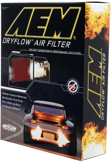 AEM Reusable Air Filter Box