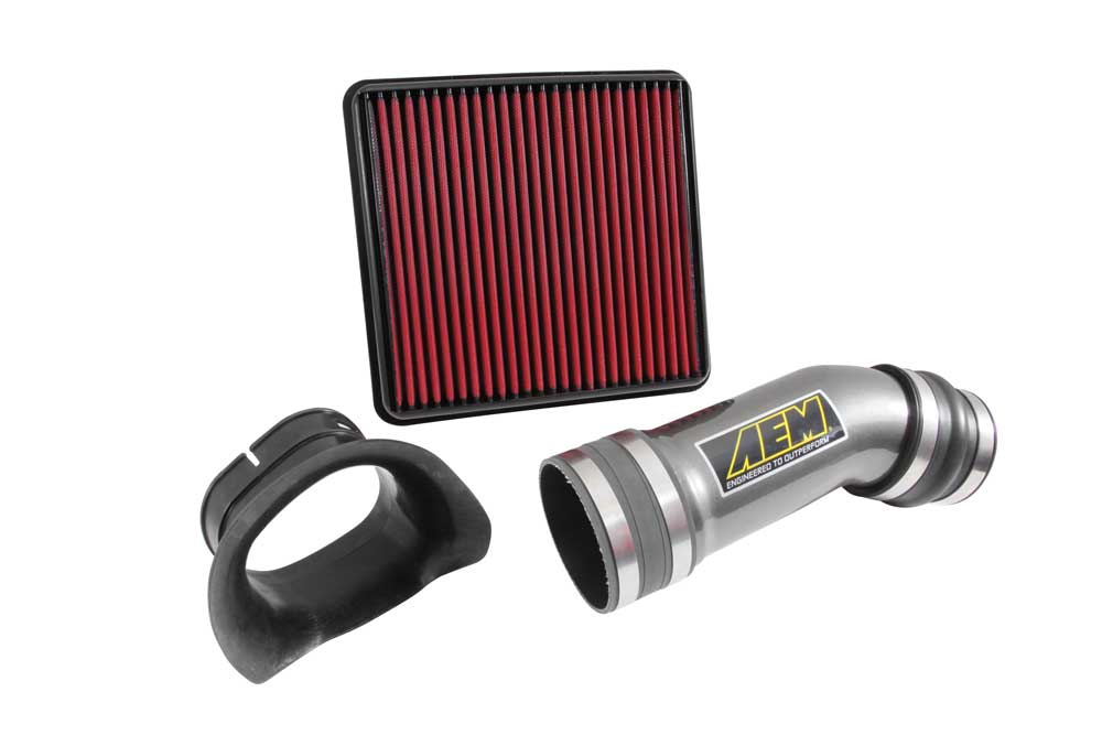 Infiniti g35 2 dr cold air intake system (polished) 03 04 05 06