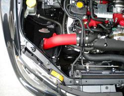 Subaru Impreza WRX with AEM cold air intake 21-478WR.