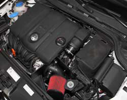 With the AEM cold air intake system the car feels less restricted and really opens up on acceleration