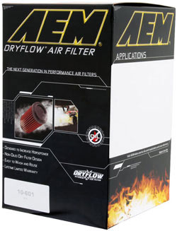 AEM's Isuzu i-370, i-290, i-280, Hummer H3, GMC Canyon and Chevy Colorado air filter box