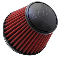 In most driving situations, a Dryflow filter doesn't require cleaning for up to 100,000 miles