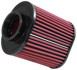 AEM DryFlow air filters feature a non-woven synthetic media and no oiling is required