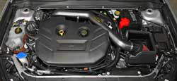 More air and less restriction means more usable power throughout the Ford Fusion 2.0L EcoBoost engine using AEM intake