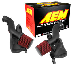 The AEM Kit Provides Maximum Airflow By Seperating The Incoming Air Streams