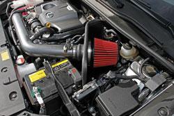 AEM 21-787C installed in Lexus NX200t