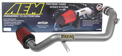AEM DryFlow air filter removes up to 99% of contaminants from the air