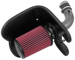 The large 21-2038DK DryFlow filter provides ample flowable area to the intake system