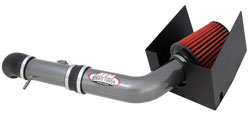AEM Brute Force Intakes use oversized air filters coupled to large diameter air intake tubes