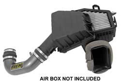 stock air filter box of 2010-2014 Chevy Camaro allowed AEM Intake designers to create a 50-state street legal intake