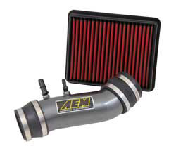 The AEM 50-state street legal air intake for 2011-2014 Ford Mustang 3.7L V6 models