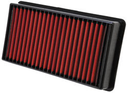 Dirty side of the 28-20248 Ford Super Duty 7.3L diesel air filter