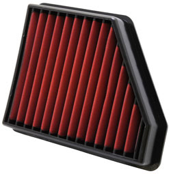 AEM DryFlow air filter for 2010 to 2013 Chevy Camaro 3.6 and 6.2 liter