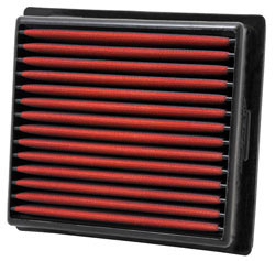 Replacement air filter for select 2011 and 2012 Dodge Durango and Jeep Grand Cherokee