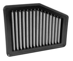 The AEM replacement Dryflow air filter for 2012-15 Honda Civic And Acura ILX models is designed for an air-tight seal in the factory air filter box without any need for modifications