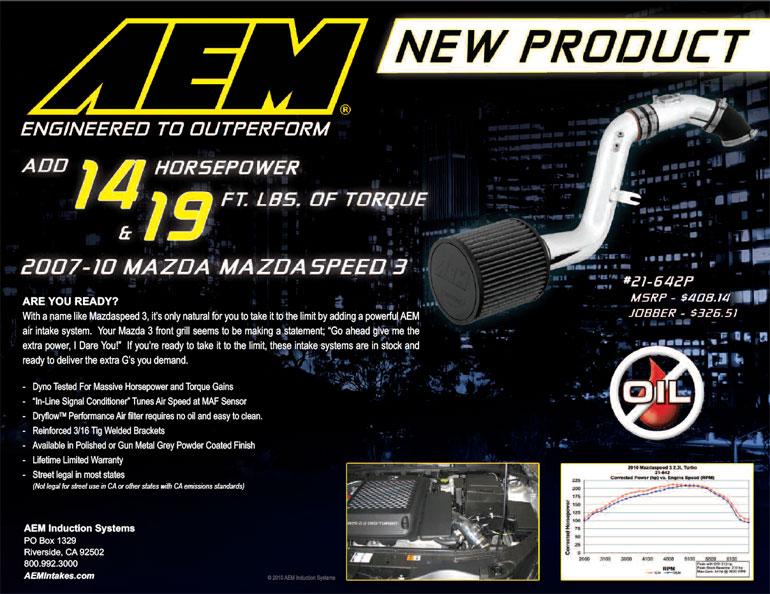 AEM Air Intake 21-642P Features PDF