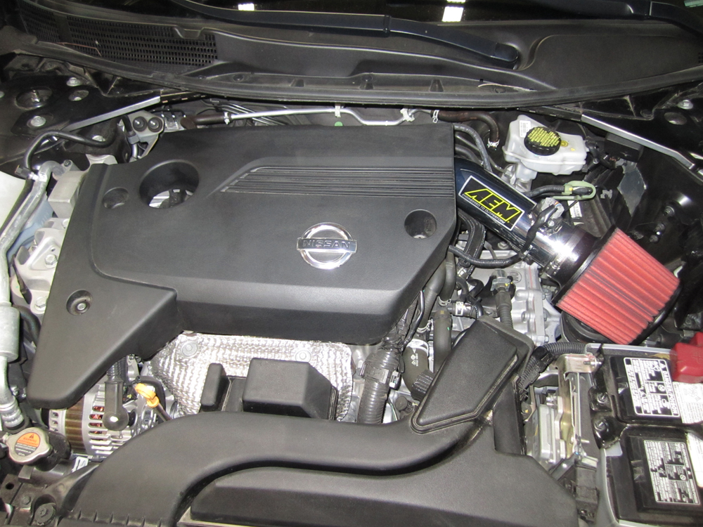 cold air intake systems: 2013 nissan altima performance boosted