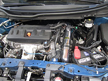 AEM 21-714P Cold Air Intake Installed on a 2012, 2013 and 2014 Honda Civic with 1.8L Engine