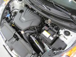 Hyundai Veloste Polished AEM Cold Air Intake