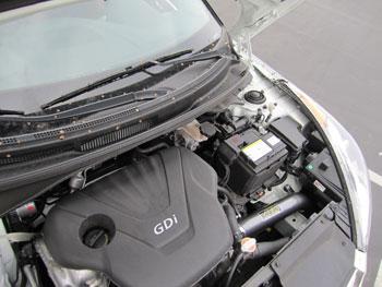AEM Air Intake Installed on a Hyundai Veloster