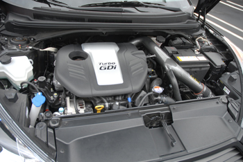 AEM cold air intake positions the Dryflow synthetic air filter in a location that provides cooler air