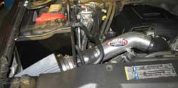 AEM 21-8026DP air intake installed on a 2008 Chevrolet/GMC 6.0-Liter HD Truck