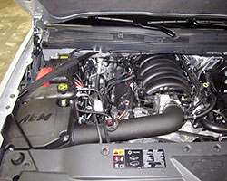 AEM Air Intake System 21-8032DS is engineered to have an OE fit and finish on this 2014 Chevy Silverado 1500