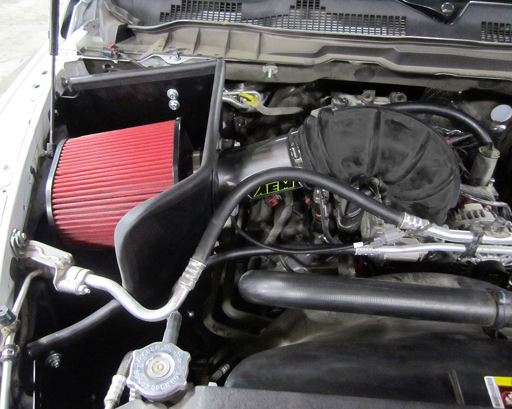 Ram 1500 Hemi V8 Makes More Power with Air Intake System ...