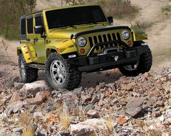 Performance Jeep Wrangler with AEM Air Filter