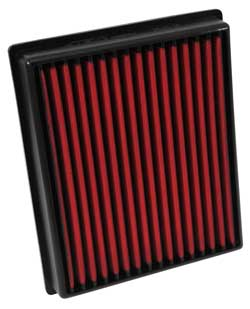 The AEM 28-20125 Volkswagen, Audi, or Skoda replacement air filter does not require oil so cleaning the filter is very simple