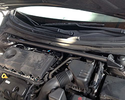 AEM Performance Strut Bar, 29-0008, is intended to enhance the driving experience, yet fit as if it came installed on the 2010-2013 Kia Forte Koupe 2.4L from the factory