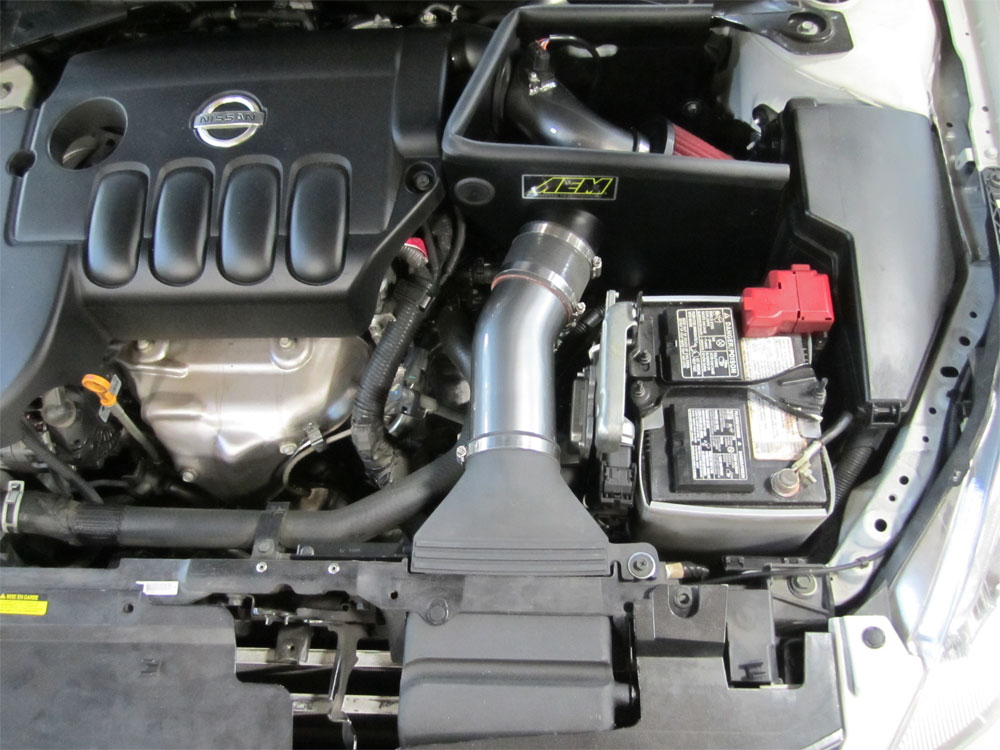 AEM Air Intake System Installed On 2011 Nissan Altima 2.5L