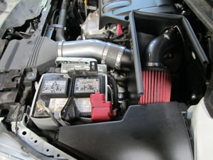 2011 Nissan Altima 2.5L with AEM Air Intake System Installed