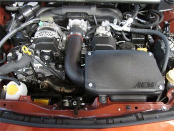 AEM Scion FRS/Subaru BRZ Air Intake 41-1408DS Installed