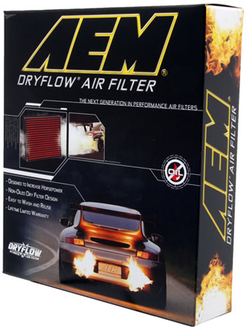 Box for AEM 28-20470 air filter.