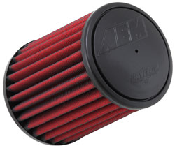 AEM clamp-on Dryflow air filter, number 21-2147D-HK, was originally developed to meet the filtration and performance needs of the AEM air intake for 2012-2015 Jeep Wrangler JK 3.6L models
