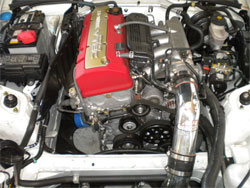 Air Intake System installed on Honda S2000 Roadster