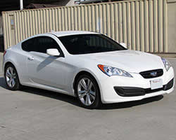 Hyundai Genesis Coupe with 350 horsepower Lamba 3.8L V6 GDI engine