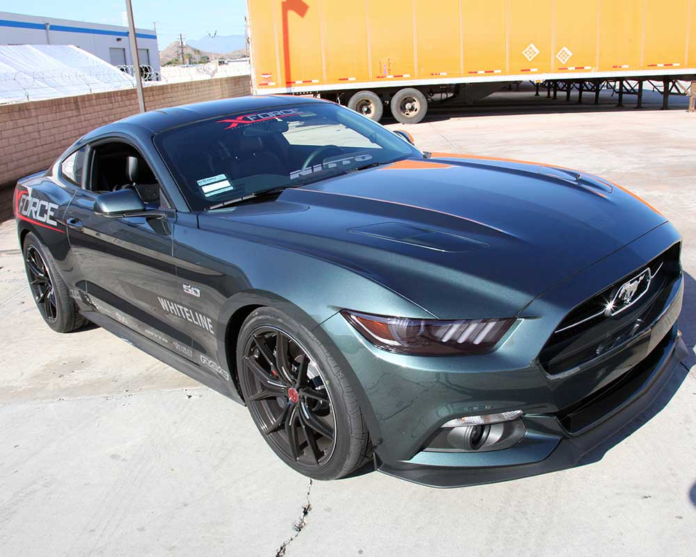 A global platform with v8 power and independent rear suspension means the 2015 ford mustang can