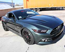 2015 Ford Mustang GT 5.0L V8 models can experience an increase in horsepower and torque