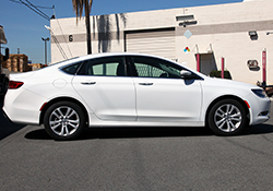 The 2015 Chrysler 200, when equipped with the Fiat designed 2.4L Tigershark L4 engine and a 9-speed automatic transmission, is able to provide an EPA estimated 36 highway MPG