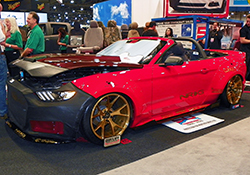 2015 Ford Mustang V6 convertible