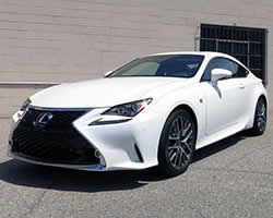 2014-2015 Lexus IS250 & IS350 compete with BMW 5-series or Mercedes-Benz E-Class