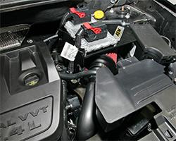 Jeep Patriot engine shot