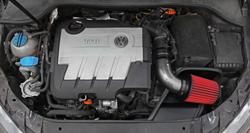 AEM 21-763C air intake system installed into VW Jetta