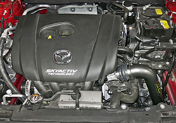 AEM Mazda 3 2.0L engine