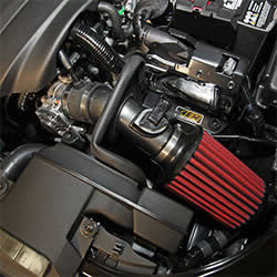 2015-2016 Mazda 3 2.0L AEM short ram intake system includes an AEM air filter