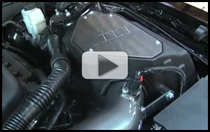 AEM-21-8122 - AEM Air Intake Installation for 2011 Ford Mustang GT 5.0L