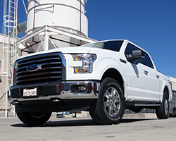 2015 Ford F-150 has shed up to 750 lbs and less weight combined with more power from an AEM Inductions air intake