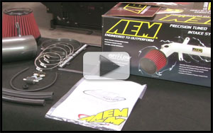 AEM-21-8219 - AEM Air Intake Installation for Newer Chrysler 300C, Dodge Magnum/Charger 6.1L